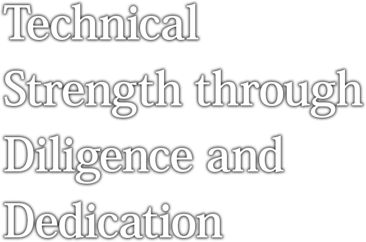 Technical Strength through Diligence and Dedication
